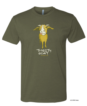 This is the featured April brewery t-shirt.