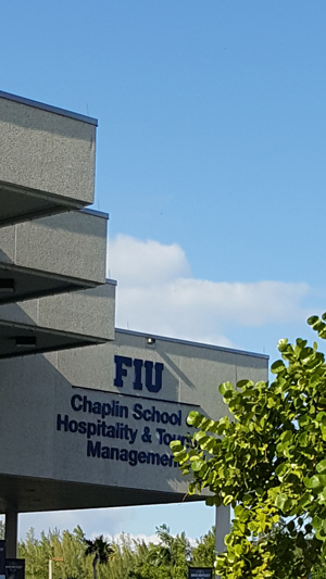 It was a picture perfect day on FIU's Biscayne Campus