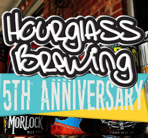 Hourglass Brewing celebrates their 5th year Anniversary