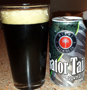 Gator Tail Brown Ale by Miami Brewing Company